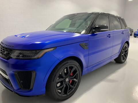 2018 Land Rover Range Rover Sport for sale at POTOMAC WEST MOTORS in Springfield VA