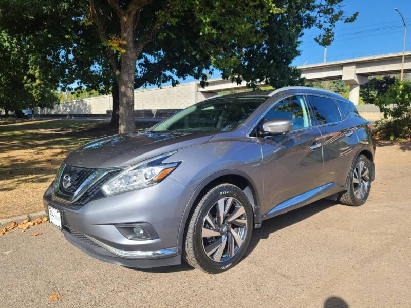 2017 Nissan Murano for sale at EXECUTIVE AUTOSPORT in Portland OR