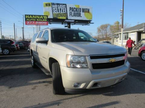 2008 Chevrolet Suburban for sale at Hanna's Auto Sales in Indianapolis IN