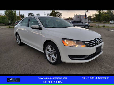 2014 Volkswagen Passat for sale at Carmel Auto Group in Indianapolis IN