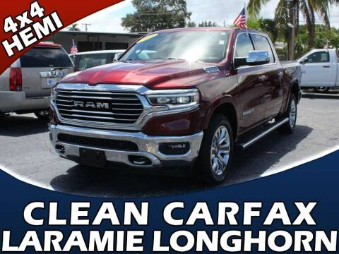 2019 RAM Ram Pickup 1500 for sale at Palm Beach Auto Wholesale in Lake Park FL