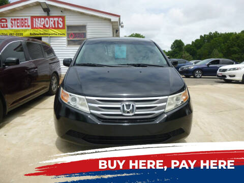 2012 Honda Odyssey for sale at Ed Steibel Imports in Shelby NC