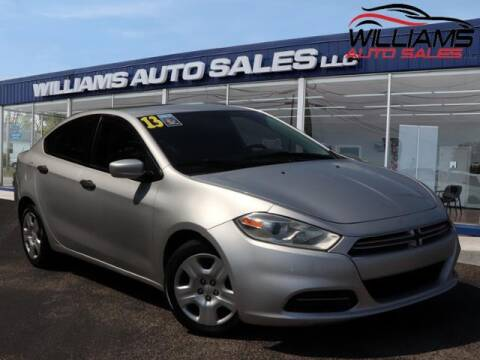 2013 Dodge Dart for sale at Williams Auto Sales, LLC in Cookeville TN
