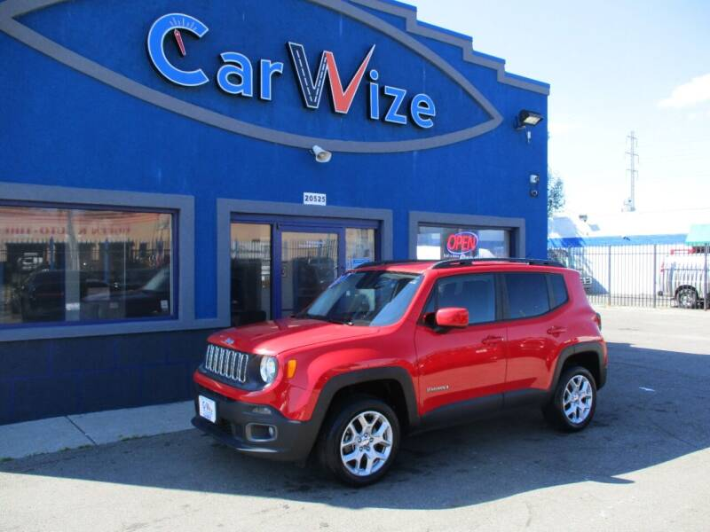 2017 Jeep Renegade for sale at Carwize in Detroit MI