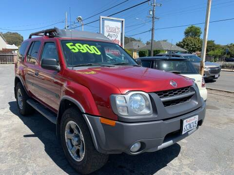 2004 Nissan Xterra for sale at Dodi Auto Sales in Monterey CA