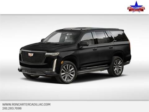 2021 Cadillac Escalade for sale at Ron Carter  Clear Lake Used Cars in Houston TX