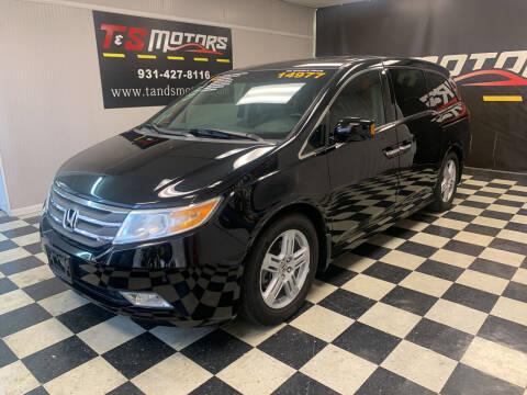 2012 Honda Odyssey for sale at T & S Motors in Ardmore TN