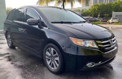 2014 Honda Odyssey for sale at Meru Motors in Hollywood FL
