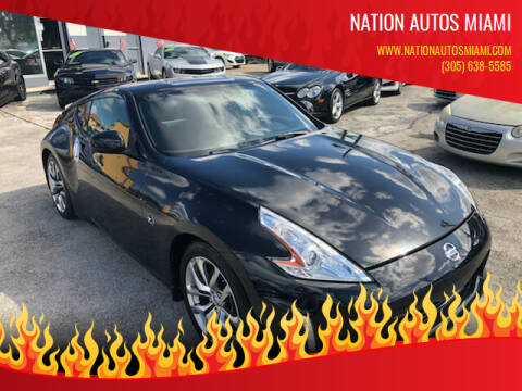 2013 Nissan 370Z for sale at Nation Autos Miami in Hialeah FL