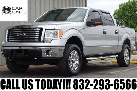 2010 Ford F-150 for sale at CAR CAFE LLC in Houston TX