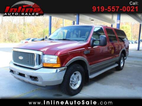 2001 Ford Excursion for sale at Inline Auto Sales in Fuquay Varina NC