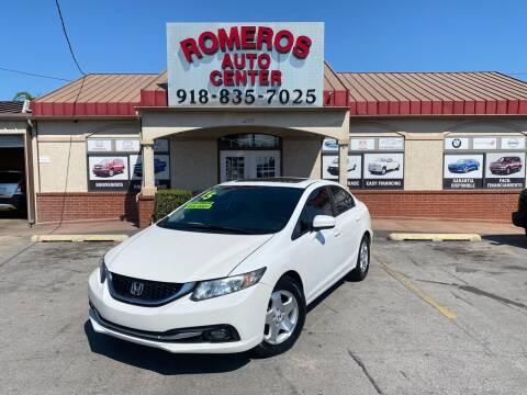 2015 Honda Civic for sale at Romeros Auto Center in Tulsa OK