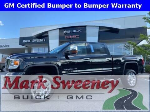 2018 GMC Sierra 2500HD for sale at Mark Sweeney Buick GMC in Cincinnati OH