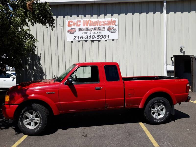 2005 Ford Ranger for sale at C & C Wholesale in Cleveland OH