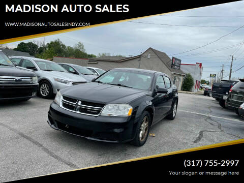 2011 Dodge Avenger for sale at MADISON AUTO SALES in Indianapolis IN