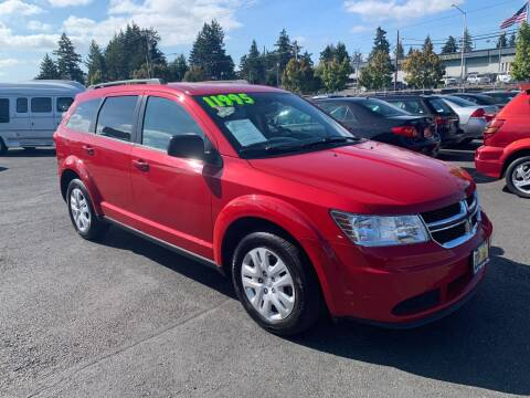 2015 Dodge Journey for sale at Pacific Point Auto Sales in Lakewood WA