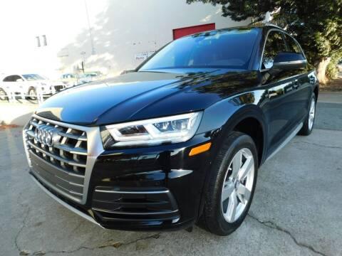 2018 Audi Q5 for sale at Conti Auto Sales Inc in Burlingame CA