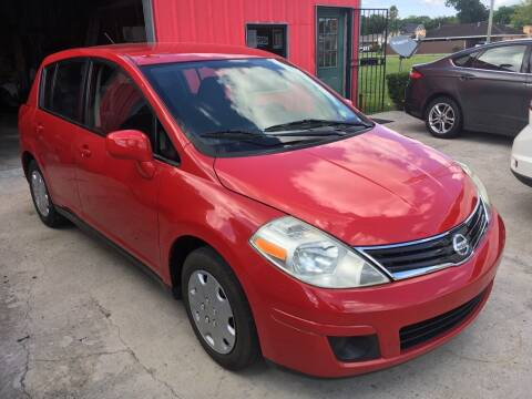 2012 Nissan Versa for sale at PICAZO AUTO SALES in South Houston TX