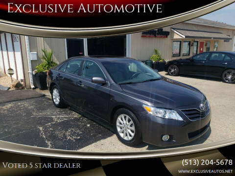 2011 Toyota Camry for sale at Exclusive Automotive in West Chester OH