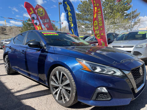 2019 Nissan Altima for sale at Duke City Auto LLC in Gallup NM