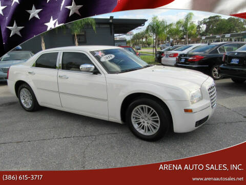 2010 Chrysler 300 for sale at ARENA AUTO SALES,  INC. in Holly Hill FL