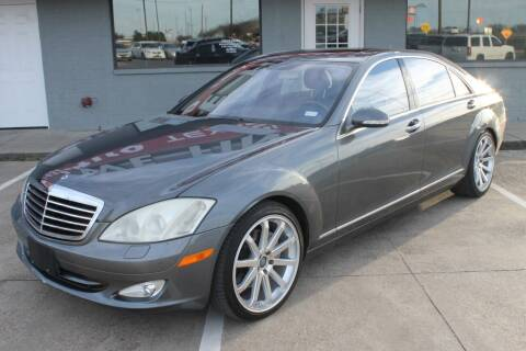 2007 Mercedes-Benz S-Class for sale at Texas Luxury Auto in Cedar Hill TX