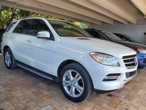 2013 Mercedes-Benz M-Class for sale at America Auto Wholesale Inc in Miami FL