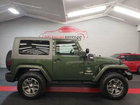 2009 Jeep Wrangler for sale at Premium Motors in Villa Park IL