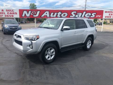 2019 Toyota 4Runner for sale at N & J Auto Sales in Warsaw IN