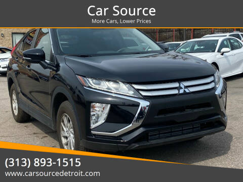 2019 Mitsubishi Eclipse Cross for sale at Car Source in Detroit MI