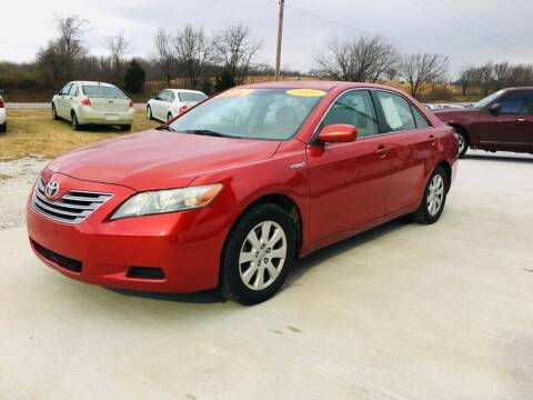 2007 Toyota Camry Hybrid for sale at R.E.D. Auto Sales LLC in Joplin MO