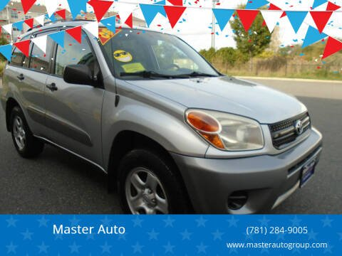 2005 Toyota RAV4 for sale at Master Auto in Revere MA