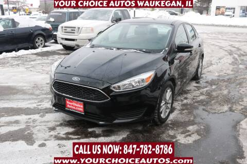 2016 Ford Focus for sale at Your Choice Autos - Waukegan in Waukegan IL