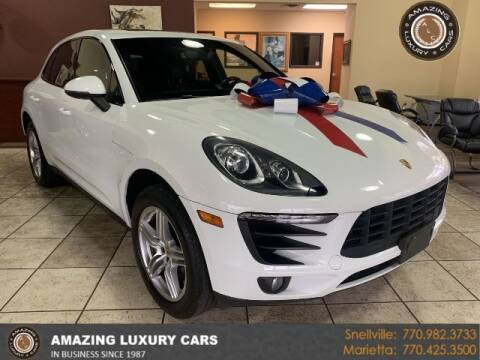 2015 Porsche Macan for sale at Amazing Luxury Cars in Snellville GA