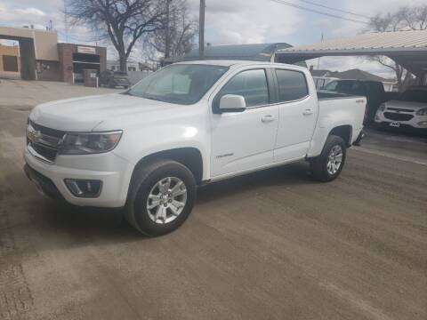 2018 Chevrolet Colorado for sale at Faw Motor Co in Cambridge NE