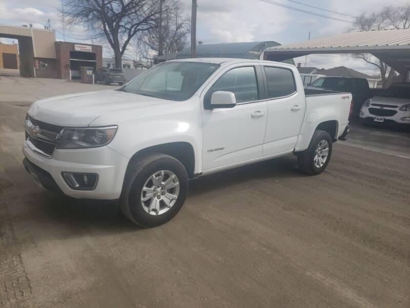 2018 Chevrolet Colorado for sale at Faw Motor Co in Cambridge NE