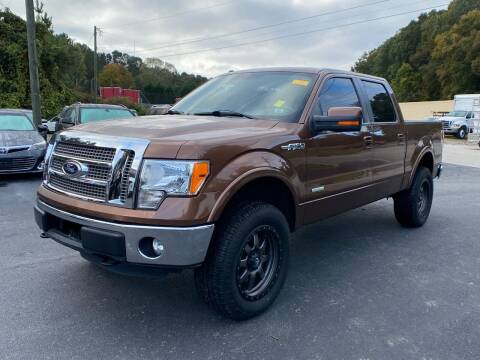 2012 Ford F-150 for sale at Luxury Auto Innovations in Flowery Branch GA