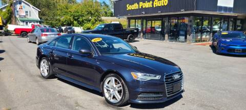 2016 Audi A6 for sale at South Point Auto Plaza, Inc. in Albany NY