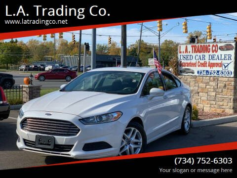 2014 Ford Fusion for sale at L.A. Trading Co. in Woodhaven MI