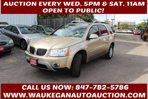 2007 Pontiac Torrent for sale at Waukegan Auto Auction in Waukegan IL