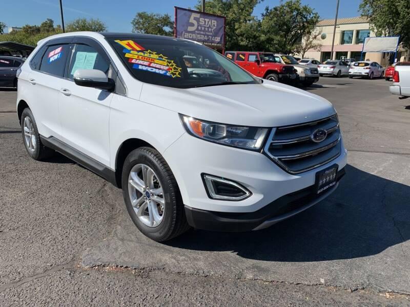 2017 Ford Edge for sale at 5 Star Auto Sales in Modesto CA