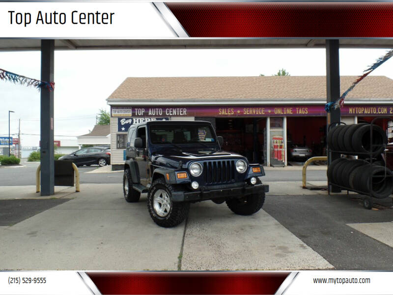 2005 Jeep Wrangler for sale at Top Auto Center in Quakertown PA