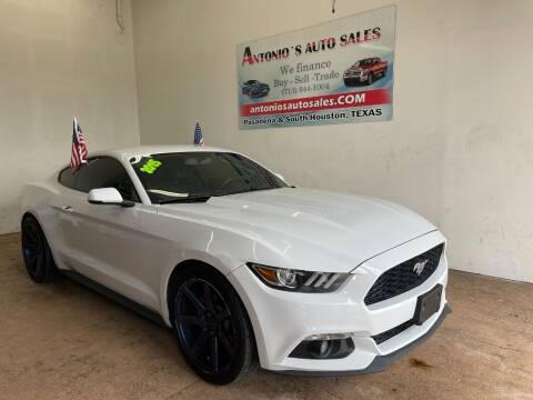 2015 Ford Mustang for sale at Antonio's Auto Sales - Antonio`s  2206 in Pasadena TX