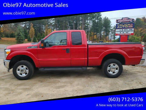 2012 Ford F-250 Super Duty for sale at Obie97 Automotive Sales in Londonderry NH