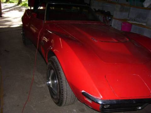 1969 Chevrolet Corvette for sale at Classic Car Deals in Cadillac MI