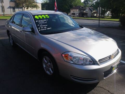 2007 Chevrolet Impala for sale at Oak Hill Auto Sales of Wooster, LLC in Wooster OH