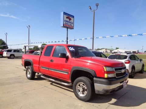 2006 Chevrolet Silverado 2500HD for sale at America Auto Inc in South Sioux City NE