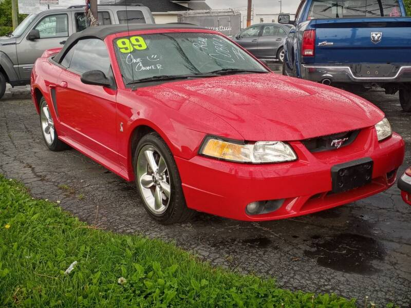 1999 Ford Mustang SVT Cobra for sale at Arak Auto Group in Bourbonnais IL