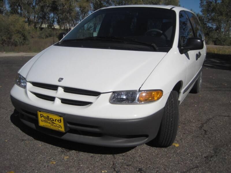 1999 Dodge Caravan for sale at Pollard Brothers Motors in Montrose CO