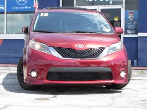 2016 Toyota Sienna for sale at VIP AUTO ENTERPRISE INC. in Orlando FL